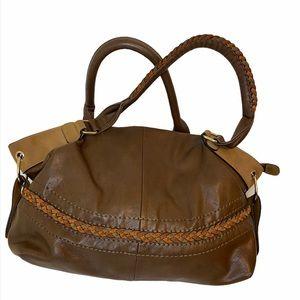 Black Rivet BOHO satchel handbag